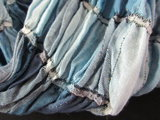 Sjaal - Blauw_