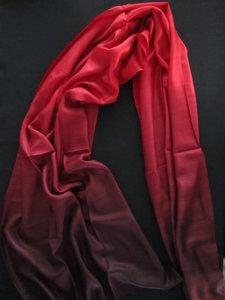 Sjaal - Rood/Zwart